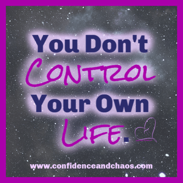 you don't control your own life, confidence and chaos featuring sweet minerals, confidence and chaos, sweet minerals, from the heart of pi, from the heart of pie, reta jayne